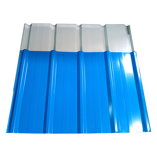 Trapezoidal Aluminium Roof tile With Color Coated Featured Image