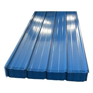 Standard Size Trapezoidal Galvanized Iron Roof Sheet
