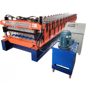 Double Layer Roof Tile Making Machine